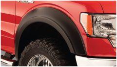 Bushwacker 50058-02 2019 Dodge Ram 1500 Extend-A-Fender Style Flares 2pc Rear 6ft 4in Bed - Black