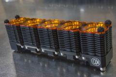 KC HiLiTES 72085 Shield for FLEX LED Dual Light (Single) - Amber