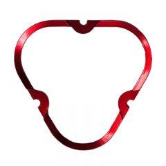 KC HiLiTES 30557 FLEX ERA 3 Color Bezel Ring Red (ea)