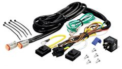 KC HiLiTES 6316 Add-On Wiring Harness for 6315 (Runs 1-2 Extra Lights/Relay Included)