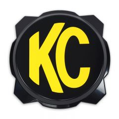 KC HiLiTES 5111 6in. Hard Cover for Gravity Pro6 LED Lights (Single) - Black w/Yellow KC Logo