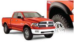 Bushwacker 50914-02 10-18 Ram 1500 Fleetside Extend-A-Fender Style Flares 4pc 67.4/76.3/96.3in Bed - Black