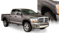 Bushwacker 50909-02 02-08 Dodge Ram 1500 Fleetside OE Style Flares 4pc 97.9/98.3in Bed - Black