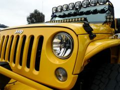 KC HiLiTES 42351 07-18 Jeep JK (Not for Rubicon/Sahara) 7in. Gravity LED DOT Headlight (Pair Pack System)