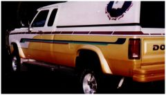 Bushwacker 50901-01 81-93 Dodge Ramcharger Extend-A-Fender Style Flares 4pc Excludes Dually - Black