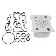 Mishimoto MMOC-F2D-08 08-10 Ford 6.4L Powerstroke Replacement Oil Cooler Kit
