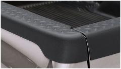 Bushwacker 59513 02-08 Dodge Ram 1500 Fleetside Bed Rail Caps 76.3in Bed - Black