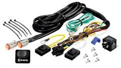 KC HiLiTES 6315 Wiring Harness w/40 AMP Relay & LED Rocker Switch (Up to 2 - 130w Lights)